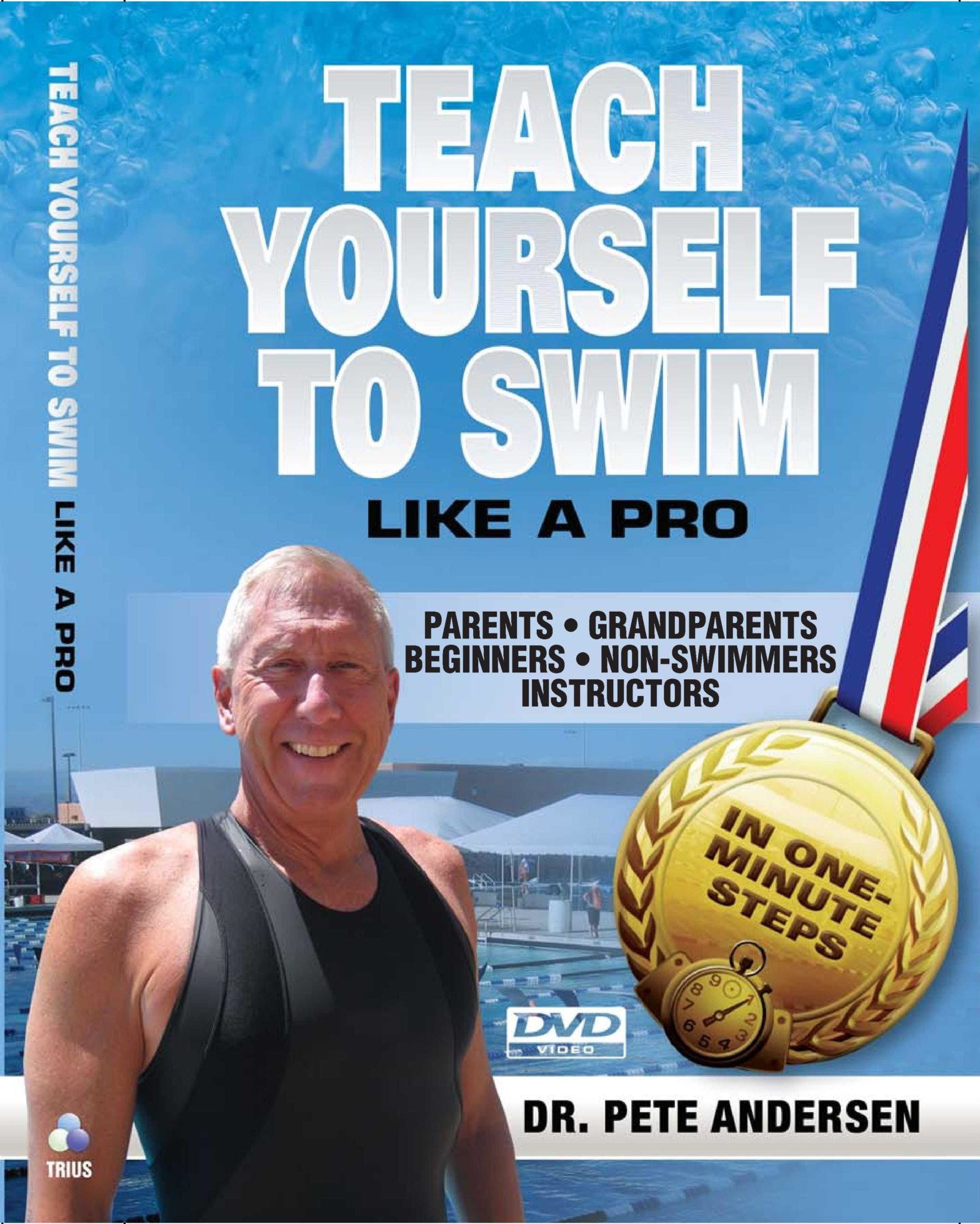 4 DVD series Teach Yourself To Swim – Parents-Beginners-Instructors